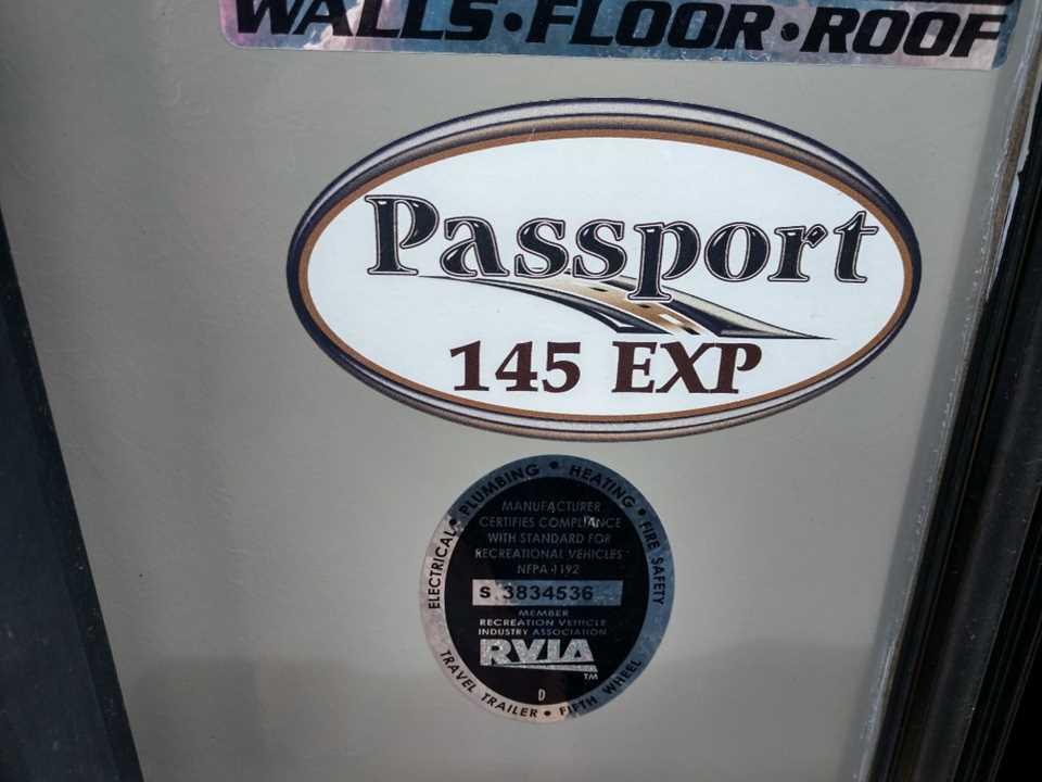 Used 2015 Keystone Rv Passport Ultra Lite Expandable 145