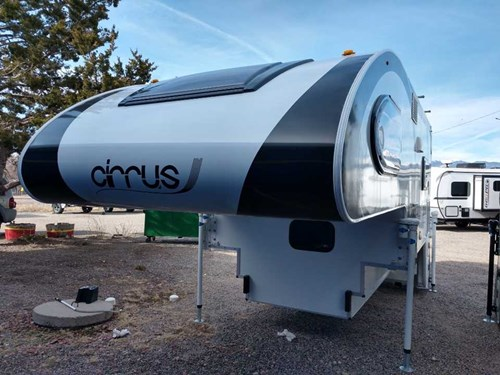 New 2019 Pleasant Valley Cirrus 920 Cab Over Camper Stock