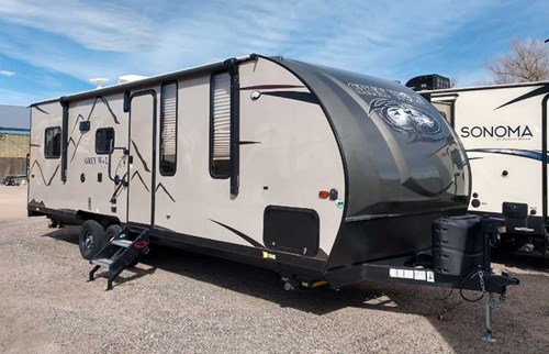 New 2019 Forest River Grey Wolf 22rr Travel Trailer Stock