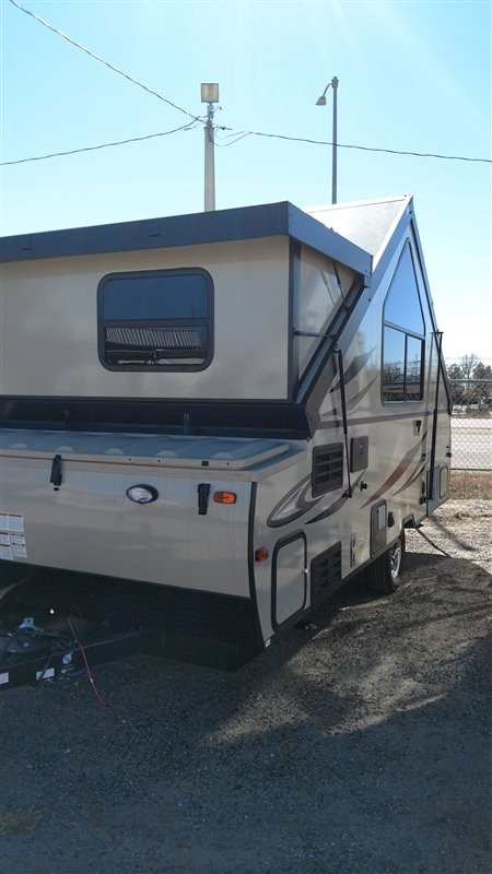 Rockwood 10 Piece Hvlp Paint Gun Set: NEW 2018 Forest River RV Rockwood Hard Side A214HW Folding