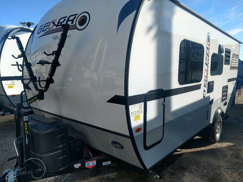 New 2018 Forest River Rv Rockwood Geo Pro G19fd Travel